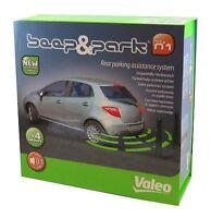 GENUINE Valeo Beep & Park Car Reverse Parking Sensors Rear Reversing Kit 632200