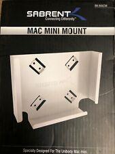 Sabrent Mac mini VESA Mount  Wall Mount  Under Desk Mount BK-MACM