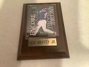 MLB Ken Griffey Jr wood plaque