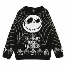 Boys The Nightmare Before Christmas Knitted Jumper Jack Web Official Disney