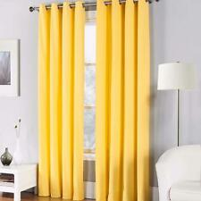 "NEW ONE (1) FIESTA H. Laughlin sunflower grommet curtain WINDOW PANEL 50"" X 84"""