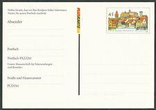 PFK 11a - Postfach-Mitteilungskarte (weiß, dick) - Kronach - 45 Ct. - postfrisch