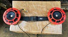Subaru Impreza WRX STI JDM 2001-2007 Red twin horn kit not hella