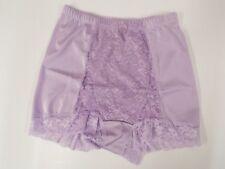 Rhonda Shear Lace Control Panty-Lilac-Medium-NEW