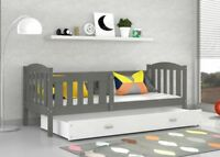 TODDLER JUNIOR CHILDRENS SINGLE BED FOR KIDS +MATTRESS +DRAWER +FREE DELIVERY