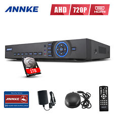 ANNKE HD 720P 4CH HDMI Video Recorder DVR for Home Security Camera System 1TB