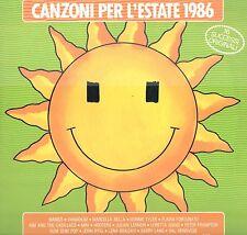 LP 7233  CANZONI PER L'ESTATE 1986