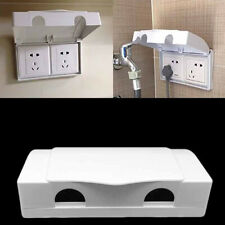 Plug Cover Double Socket Switches Outlet Baby Child Safety Protector Office Box