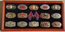 New ListingPride Of The South Belt Buckles Bradford Exchange With All Paperwork