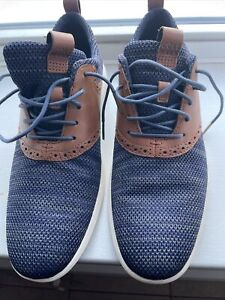 Cole Haan Men's Grand OS Knit Wingtip Oxford Shoes Sneaker C31348 Navy 9.5M