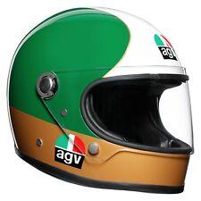 New AGV X3000 Agostini Full-Face Helmet L Gold/Green/Red/White #001159I0001L