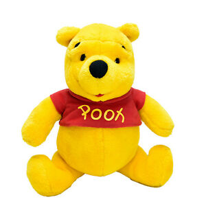 Winnie the Pooh Vintage Teddy Bear Plush Jointed Legs Toy Washed Clean 30cm