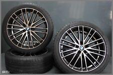 4x Llantas de Aluminio Oxigin 19 Oxspoke Negro Full Pulido ET15 5X120 8,5J X