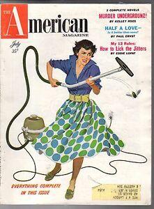 1954 American July - Octavus Roy Cohen; Pete Smith;Eddie Lopat Yankees;Goshen IN
