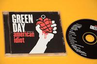 CD (NO LP ) GREEN DAY AMERICAN IDIOT ORIG CON LIBRETTO COME NUOVO EX+