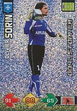 OLIVIER SORIN # GOAL STOPPER AJ.AUXERRE TRADING CARDS ADRENALYN PANINI FOOT 2010