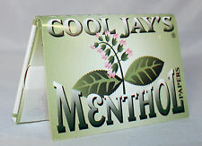 6 booklets Cool Jay's 1.5 menthol flavored 1 1/2 cigarette rolling papers