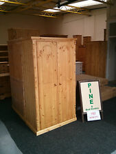 PINE FURNITURE ASHBOURNE WAREHOUSE CLEARANCE SOLID PINE WARDROBE NO FLAT PK