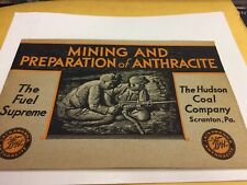 1931 - MINING AND PREPARATION OF ANTHRACITE- HUDSON COAL COMPANY - SCRANTON PA