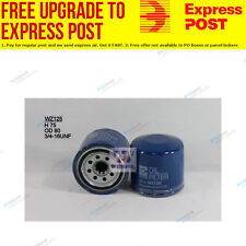 Wesfil Oil Filter WZ125 fits Daihatsu Charade 1.0 Turbo (G11)