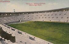 Postcard Stadium Harvard College Cambridge MA