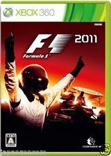 Used Xbox 360 F1: 2011 MICROSOFT JAPAN JP JAPANESE JAPONAIS IMPORT