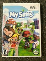 MySims (Nintendo Wii) SIMS Game - Clean & Tested Working - Free Shipping