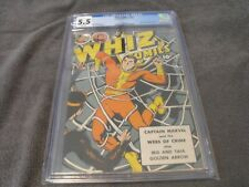New ListingWhiz Comics #89 Cgc 5.5 1947 White Pages