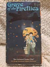 Grave Of The Fireflies Studio Ghibli Anime VHS Cassette Tape ENGLISH 1988