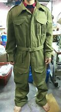 British UK Military Army Lightweigth Tanker Uniform Suit Cotton Coveralls