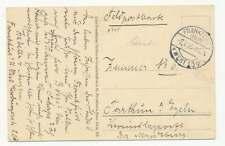 Feldpost 1. WK, AK Frankfurt 2.7.15 ohne Briefstempel (56824)