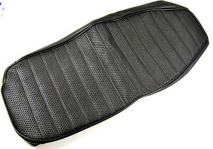 Seat Cover wide front T120 TR6 1971-1972 Triumph UK MADE gold logo Basket Weave