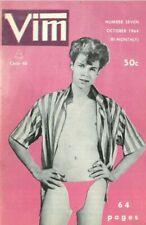 Vim No.7 October 1964, Vintage Male Beefcake Magazine
