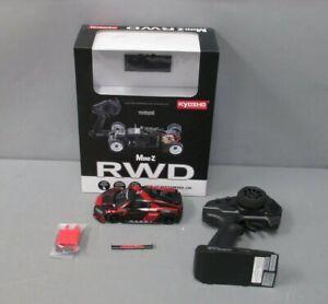 Kyoso 32323BKR-B MINI-Z Audi R8 LMS 2016 Black/Red MR-03 Readyset/Box