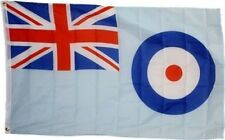 RAF Ensign 3x5 ft Royal Air Force Flag Roundel UK Union Jack Blue England