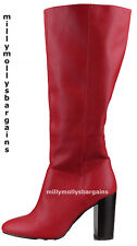 New Womens Red NEXT Boots Size 4 RRP £60