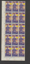 NZ 1969 ½c DECIMAL LIFE INSURANCE-Plate 111 Block 15-ACS L32 cat $30+ MUH (15)