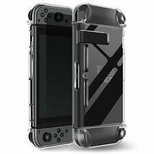 Nintendo Switch Protective Shell Crystal Clear Shockproof Case for Console UK