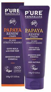 P'URE Papayacare Papaya Renew Cream 100g
