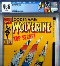 PRIMO:  WOLVERINE #50 origin Logan new label NM+ 9.6 CGC Marvel comics