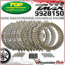 DISCHI FRIZIONE TOP PERFORMANCE RACING + 3 KIT MOLLE YAMAHA T-MAX 500 TMAX 2007