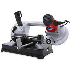 HEAVY DUTY 230v 680w WOOD METAL TABLE BENCH TOP MITRE CUTTING BAND SAW MACHINE