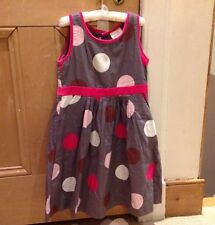 Boden Dress, 4-5y,  Grey & Pink Party Dress