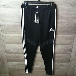 Adidas Youth Unisex Large Black/White TIRO19 Tapered Football Training Pants NWT