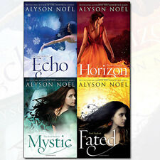 Alyson Noel The Soul Seekers Series Collection Horizon, Mystic, Echo 4 Books Set