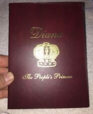 Diana A Royal Tribute 1997 The people's Princess Coin With Hard Case & Postcard