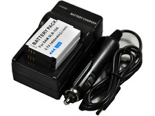 New 2x Battery and Charger SLB-10A for WB350F M110 WB2014F HMX-U10 L310W SLB10A