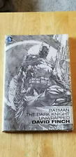 BATMAN THE DARK KNIGHT UNWRAPPED~ FINCH DC HARD COVER NEW SEALED