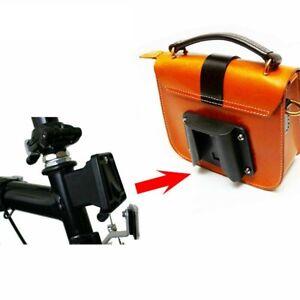 Bike Carrier Block Adapter for Brompton Folding Bike Bag Rack Holder Front  D9Z2