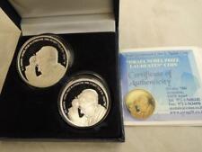 Israel 2008 S.Y. Agnon Nobel Prize in Literature 1966 BU+PR Silver Coins+Box+COA